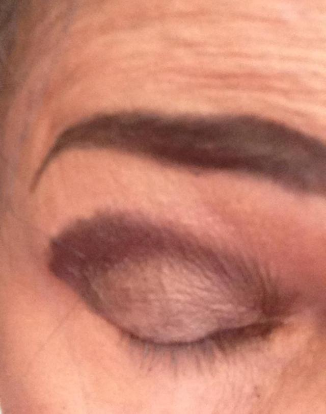 Those eyebrows have a life of their own.