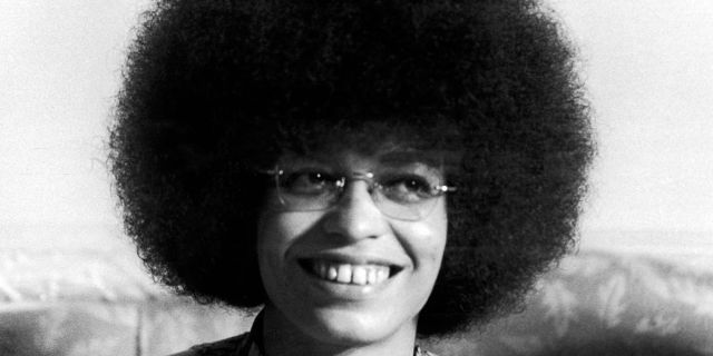 CUBA - OCTOBER 01: Angela Davis In Cuba In 1972 (Photo by Keystone-France/Gamma-Keystone via Getty Images)