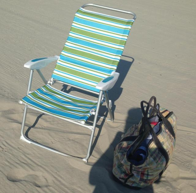 Fiv buck beach chair