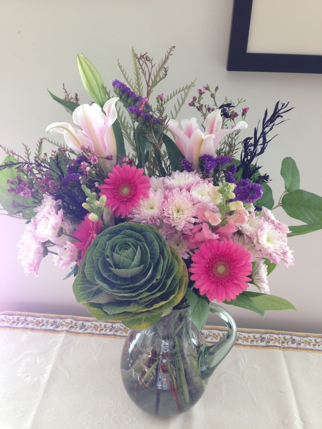 Flowers feeling happy