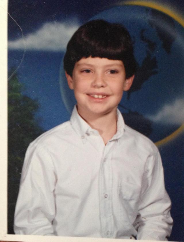 Jake third grade St. Ignatius