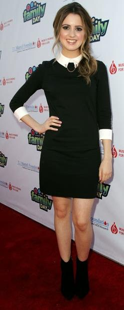 laura-marano-and-ted-baker-collar dress