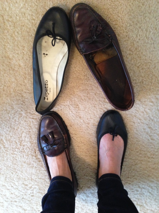 Loafers ballet flats or I'll wear boots