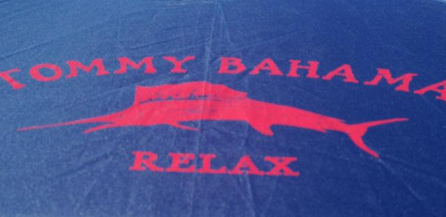 Relax message on my umbrella