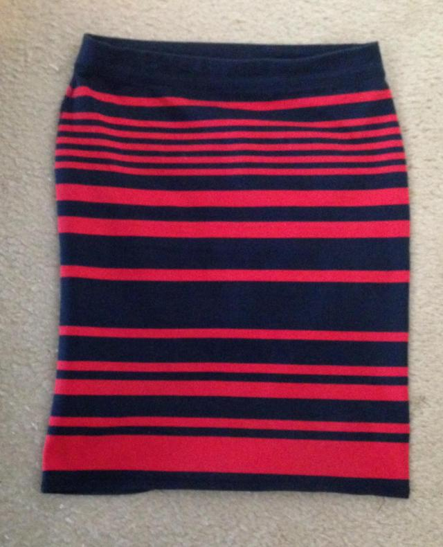 Striped Skirt 5.00 Old Navy