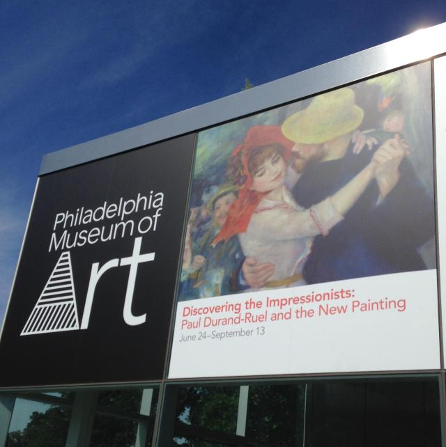 Sunday Sidsocering the Impressionists Best exhibit ever