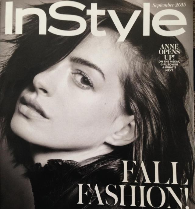 The September issue of Instyle cover