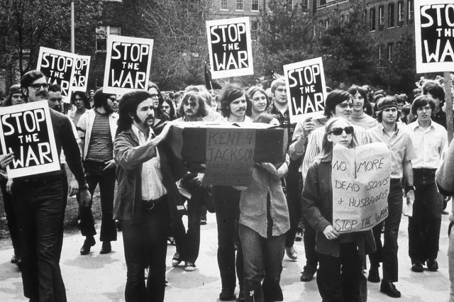 Vietnam War protest early 70's