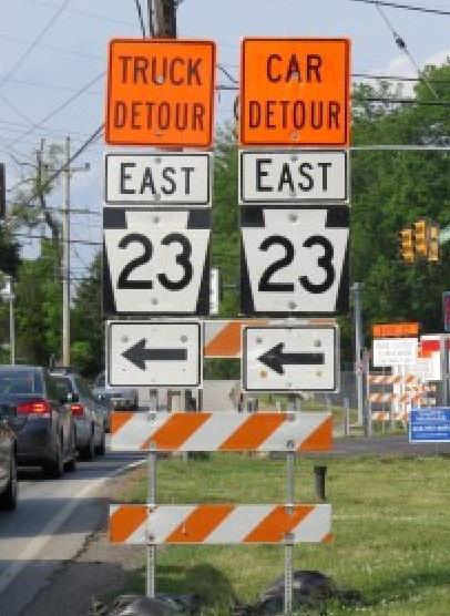 23 detour
