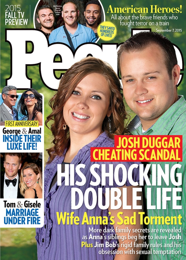 Disgusting People Magazine Cover.