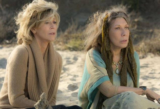 Fonda and Tomlin