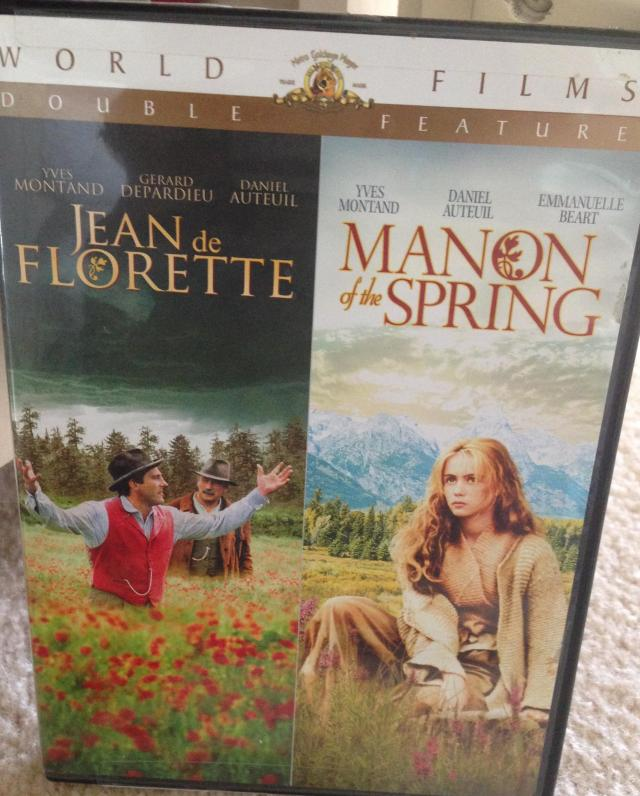 Jean De Florette Manon of the Spring