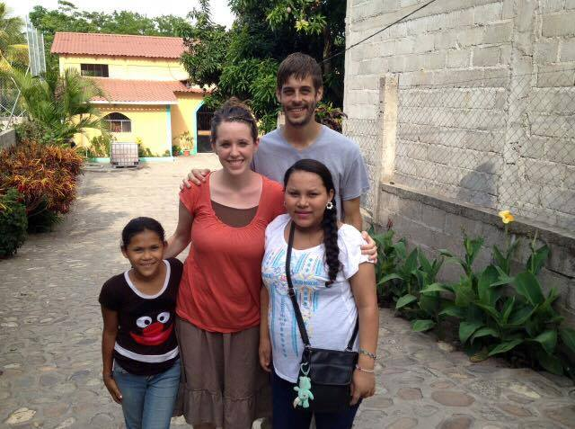 Jill and derick with missionary family