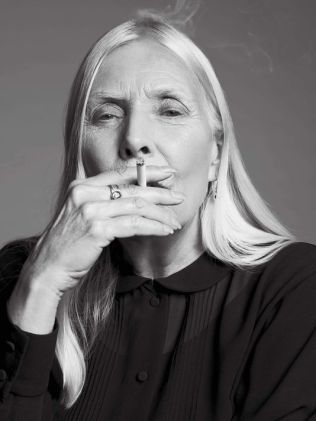 Joni Smoking