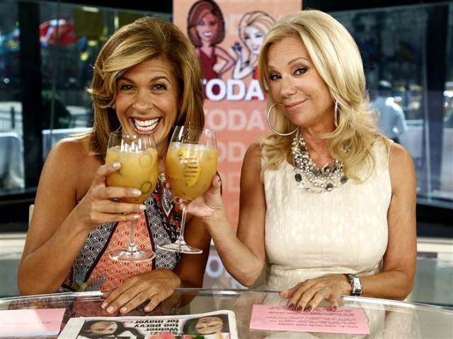 Kathy Lee and HOda