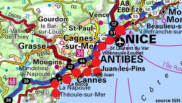 My French Map Will No Longer Show A Wonderful Place… | Atypical 60