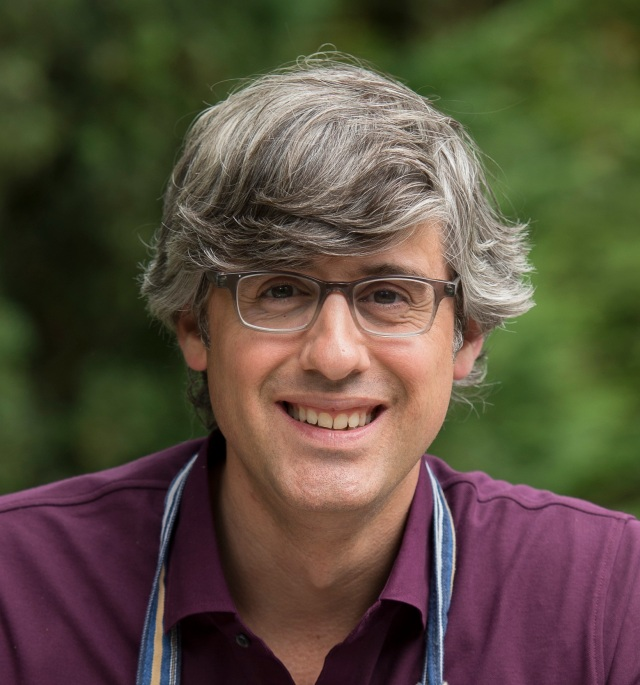 Host Mo Rocca as seen on the Cooking Channel's My Grandmother's Ravioli, Season 1.