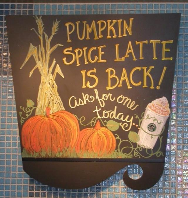 PumpkinSpiceLatteSign