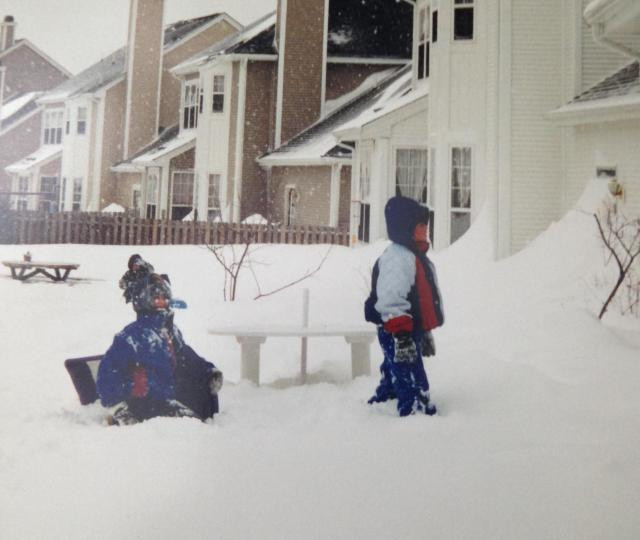 Snow at 33 Navesink