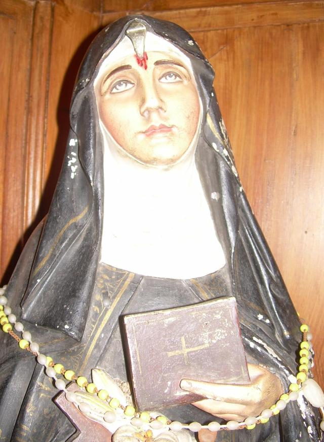 Cabris. My annual photo of St. Rita.