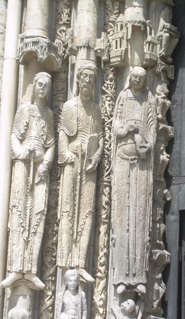 Chartres. Cathederal detail 3