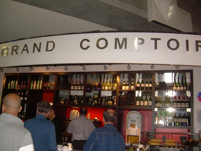France. GDG First stop after picking up baggage!