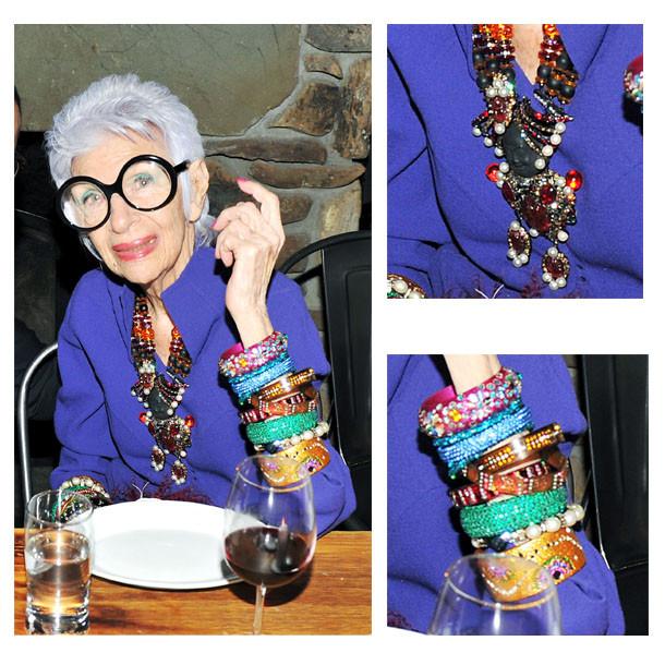 Iris Apfel gewelry