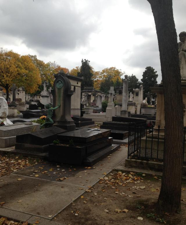 Montparnasse Cemetary Hanging out with the deadbeats