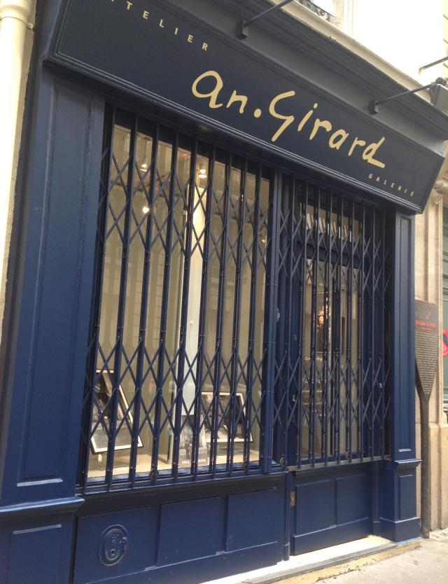 Paris. Atelier Andre Girard. Closed