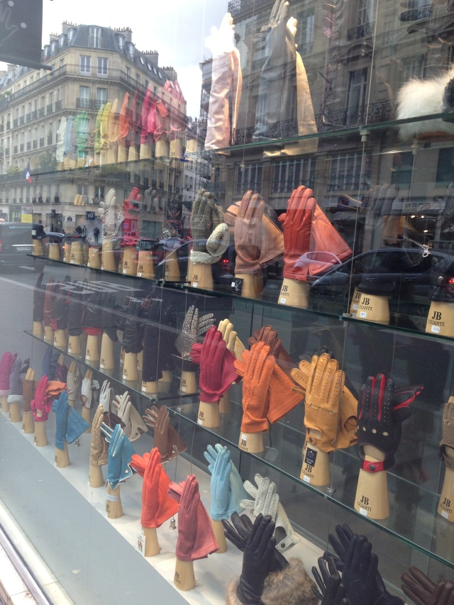 Paris. Montparnasse. Glove shop.