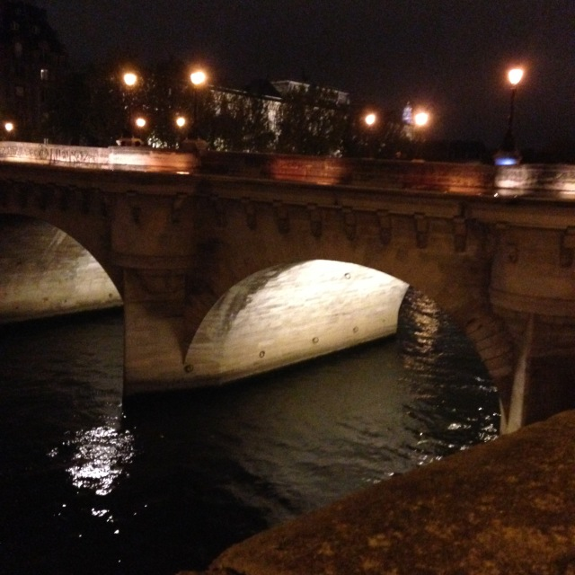 Paris. Night. Pont Neuf