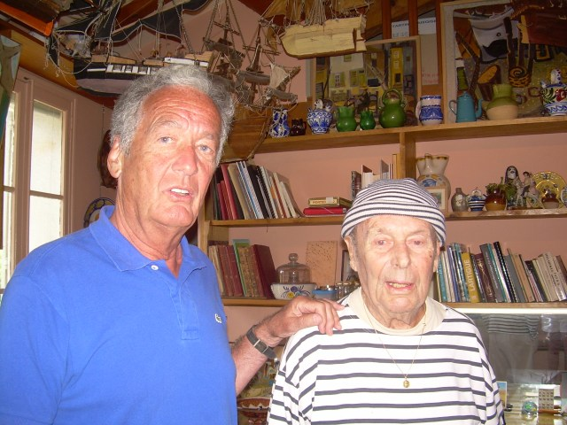 St. Trop. Vincent and Dany in dany's old studio