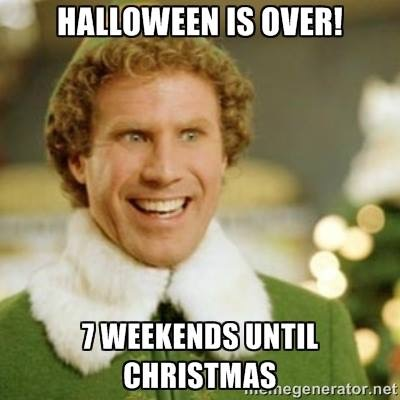 Christmas Halloween Thanksgiving Meme.Where The Hell Did Thanksgiving Go Atypical 60