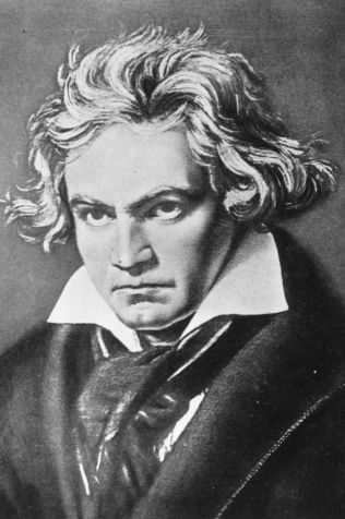 circa 1800: Ludwig van Beethoven (1770 - 1827), German composer, generally considered to be one of the greatest composers in the Western tradition. (Photo by Henry Guttmann/Getty Images)