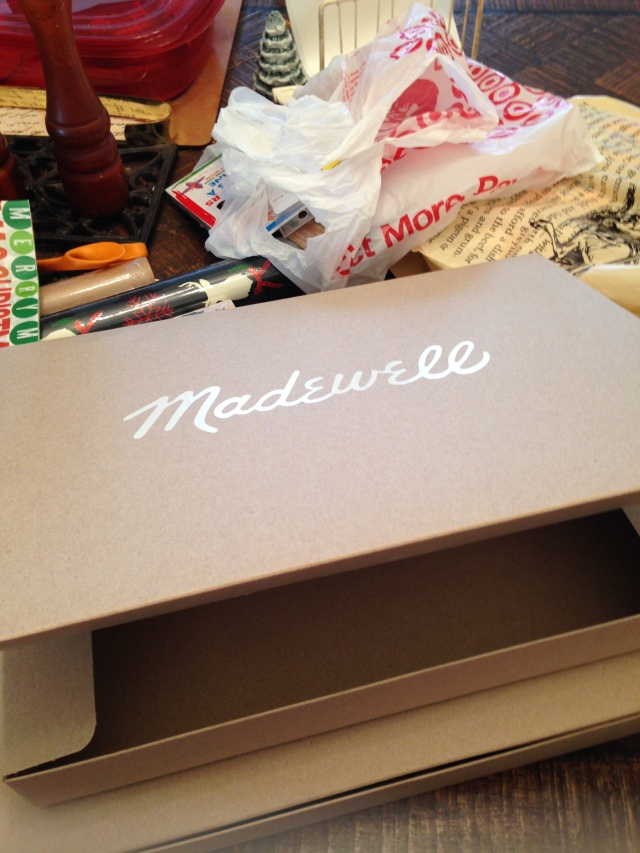 Madewell boxes are not well-made