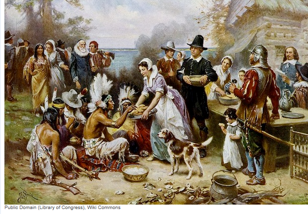 Pilgrims-Thanksgiving