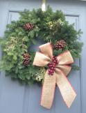 Wreath that I embellished!