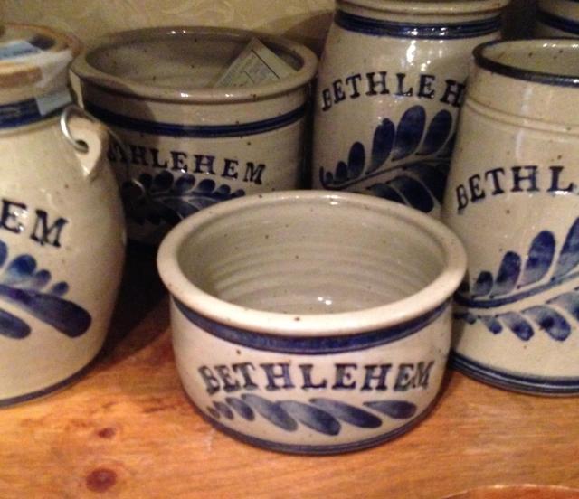 Bethlehem pottery