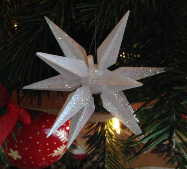 broken moravian star