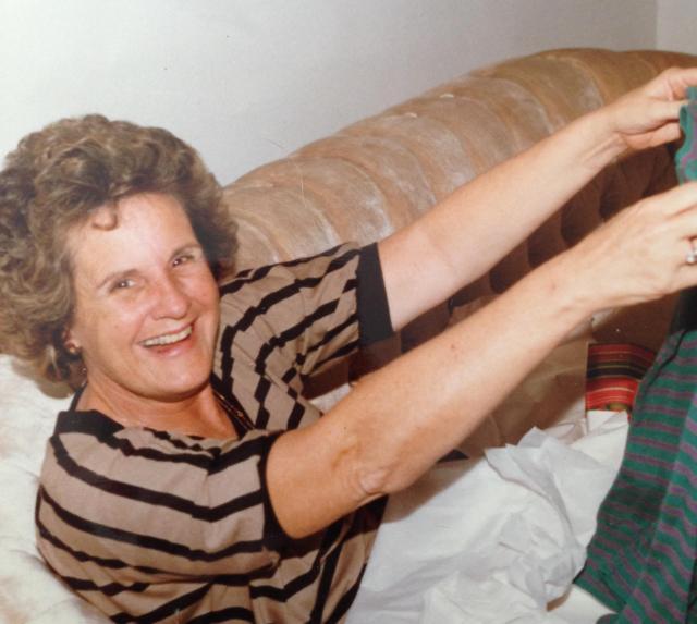 Mom florida christmas 1981