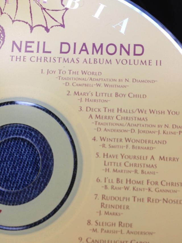 neil diamond christmas