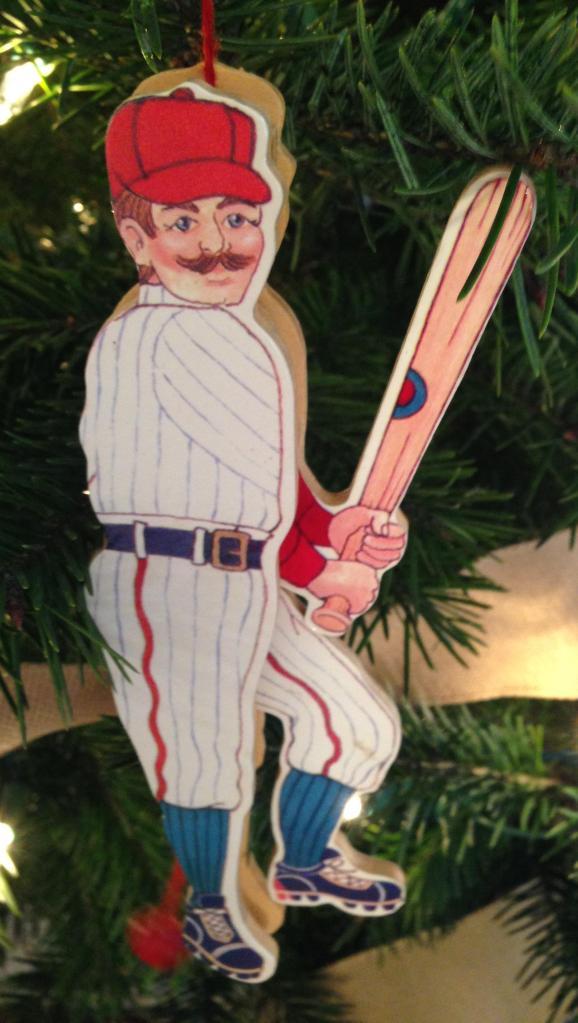 Ornament. Baseball player