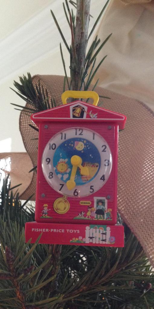 Ornament. Tick Tock Clock
