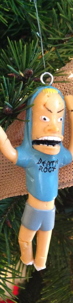 Ornaments. The great Cornholio