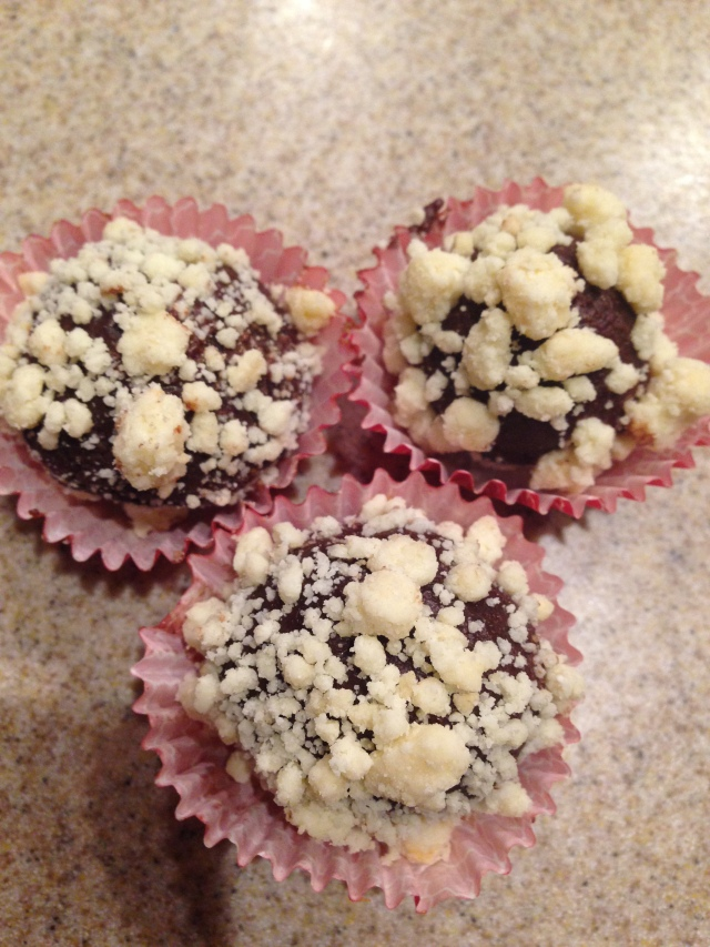 Truffles. Chocolate with milk crumb