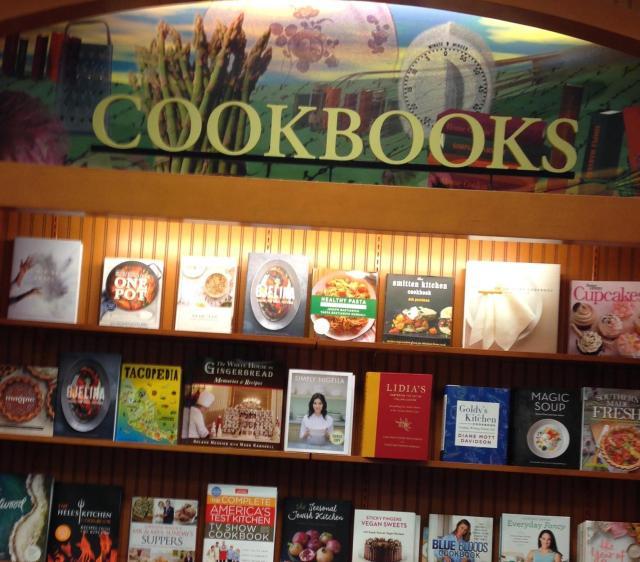 Books. Cookbooks