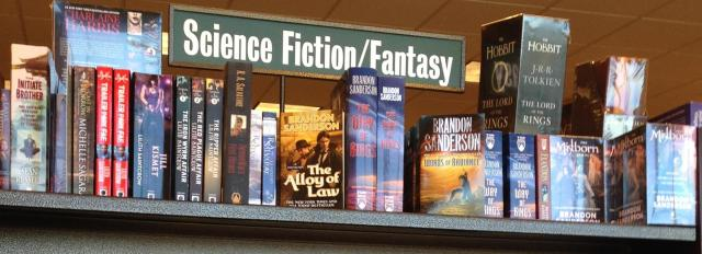 Books. Sci fi section