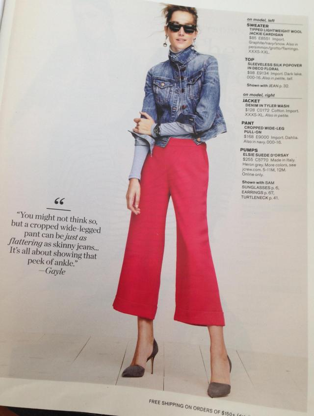 I'd like to bitch-slap this gayle. These pants wont flatter anyone