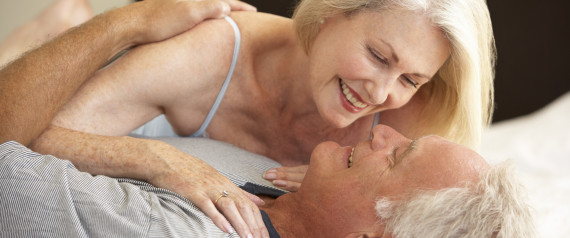 Old mature couple