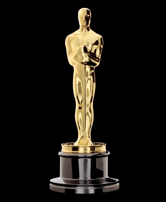 "The Oscar statuette is the copyrighted property of the Academy of Motion Picture Arts and Sciences, and the statuette and the phrases ""Academy Award(s)"" and ""Oscar(s)"" are registered trademarks under the laws of the United States and other countries. All published representations of the Award of Merit statuette, including photographs, drawings and other likenesses, must include the legend ©A.M.P.A.S.¨ to provide notice of copyright, trademark and service mark registration. Permission is hereby granted for use of the representation of the statuette in newspapers, periodicals and on television only in legitimate news articles or feature stories which refer to the annual Academy Awards as an event, or in stories or articles which refer to the Academy as an organization or to specific achievements for which the Academy Award has been given. Its use and any other use is subject to the ""Legal Regulations for Using Intellectual Properties of the Academy of Motion Picture Arts and Sciences"" published by the Academy. A copy of the ""Legal Regulations"" may be obtained from: Legal Rights Coordinator, Academy of Motion Picture Arts and Sciences, 8949 Wilshire Boulevard, Beverly Hills, California 90211; (310) 247-3000; or ©A.M.P.A.S.http://www.oscars.org/legal/preamble.html."